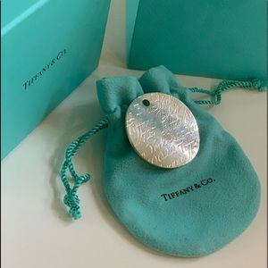 Tiffany & Co. Jewelry - TIFFANY& CO. Large Round Pendant Silver Necklace